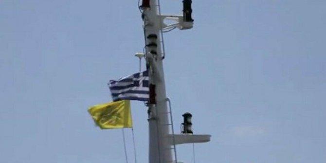 'ABD'ye ait savaş gemisi Dedeağaç'ta Bizans bayrağı çekti' iddiası