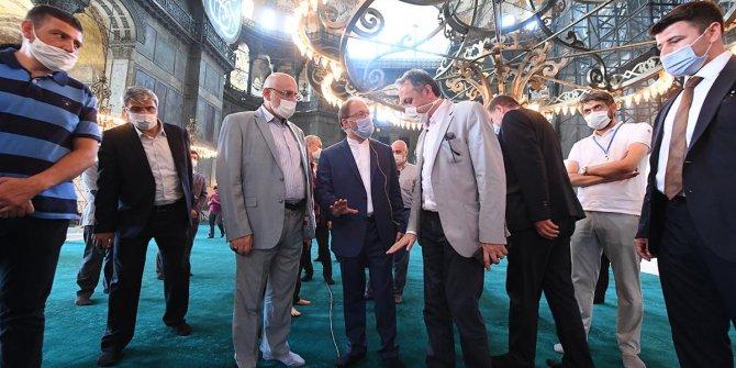 Ayasofya'da ilk namaza katılacak kişi sayısı açıklandı