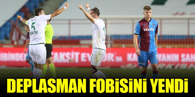 Konyaspor deplasman fobisini yendi