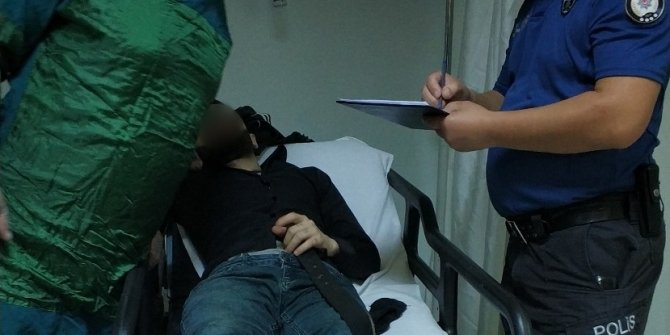 Samsun'da silahla yaralama