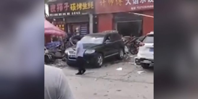 Çin'de restoranda patlama: 12 yaralı