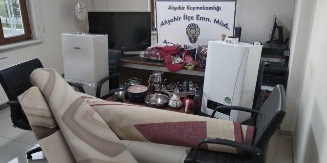 Konya'da çalıntı eşyalar sahiplerine teslim edildi