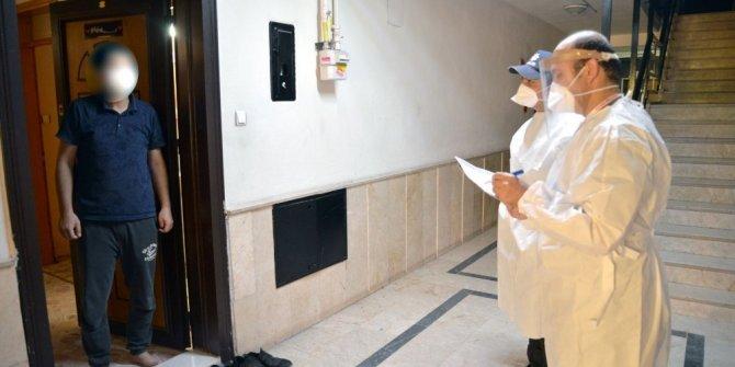 Konya'da izolasyondaki vatandaşlar ev ziyaretleri ile denetleniyor