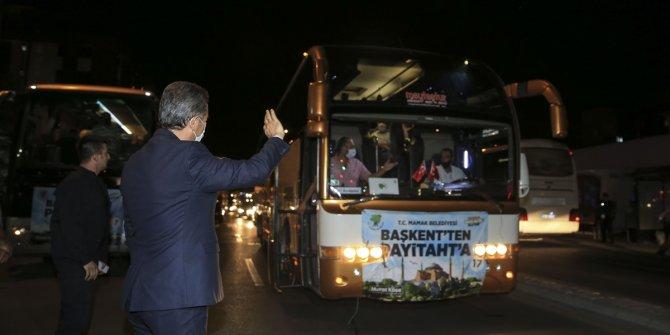 Ankara'dan Ayasofya'ya 1453 kişilik konvoy