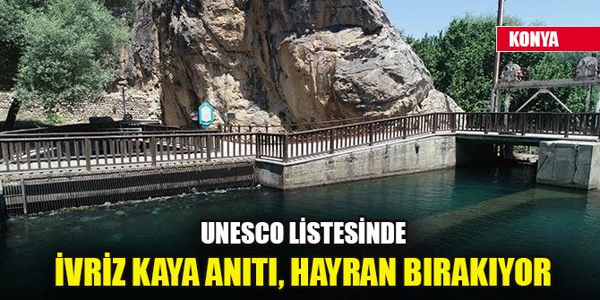 UNESCO listesindeki İvriz Kaya Anıtı, hayran bırakıyor