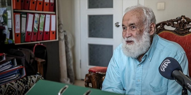 'Ayasofya davasını' kazanan İsmail Kandemir'in cuma namazı heyecanı