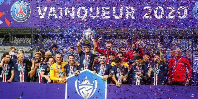 PSG, Fransa Kupası'nı tek golle kazandı