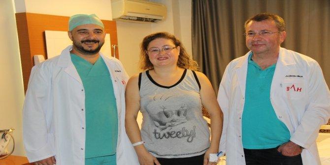 Hamile sanıp yer veriyorlardı karnından 6 kilo kitle çıktı