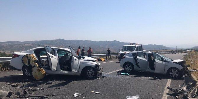 Bingöl'deki kazada 2 kişi hayatını kaybetti