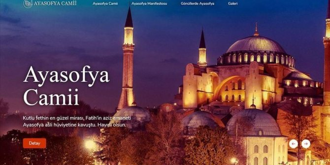 Turkey publishes book on Hagia Sophia Mosque