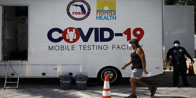 ABD'de Kovid-19 salgınından son 24 saatte 1166 ölüm