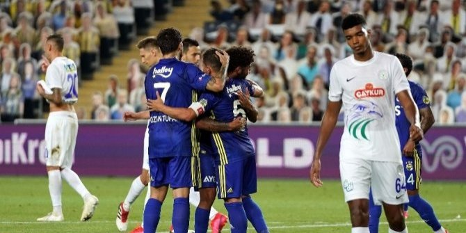 Fenerbahçe sezonu 3 puanla kapattı