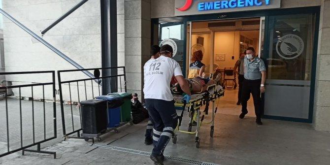Fındık toplamak için geldiği Akçakoca'da boğulmaktan vatandaşlar kurtardı