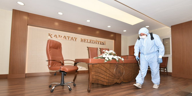 Karatay'da nikahlara korona virüs düzenlemesi