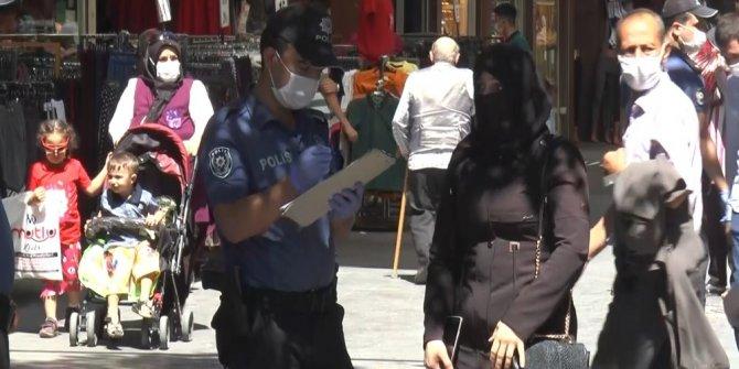 Gaziantep'te 3 bin 22 kişiye sosyal mesafe ve maske cezası