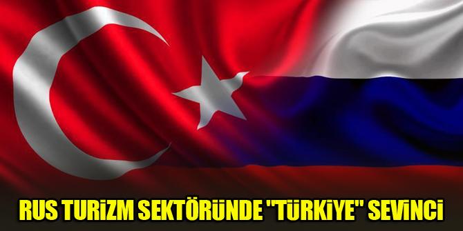 """Rus turizm sektöründe """"Türkiye"""" sevinci"""