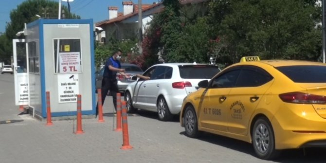 Yalova'da mahalleye ücretli giriş uygulamasından tepki üzerine vazgeçildi