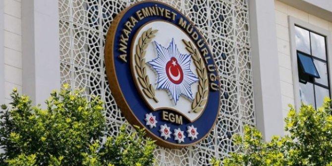 Ankara Emniyet Müdürlüğü FETÖ'ye yönelik 935 operasyon düzenledi