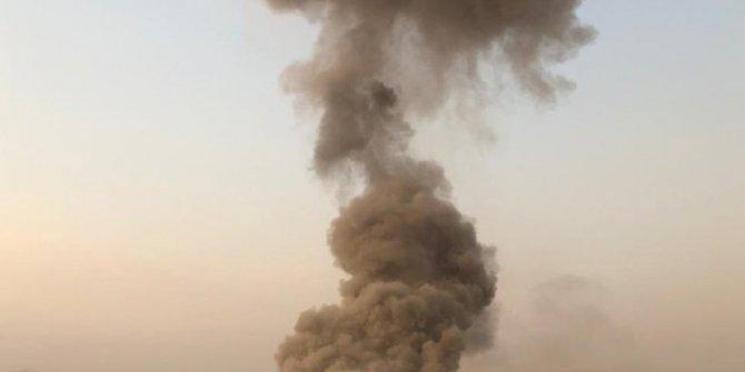 Irak'ta askeri üsse iki patlama