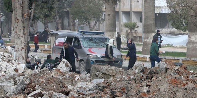 Terror attacks kill 2 civilians in northwestern Syria