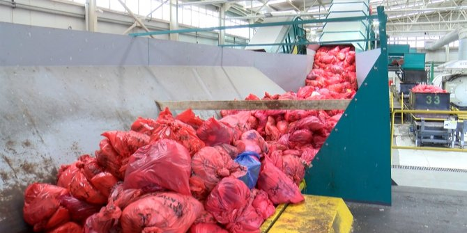 İstanbul'da koronavirüs atıkları böyle imha ediliyor