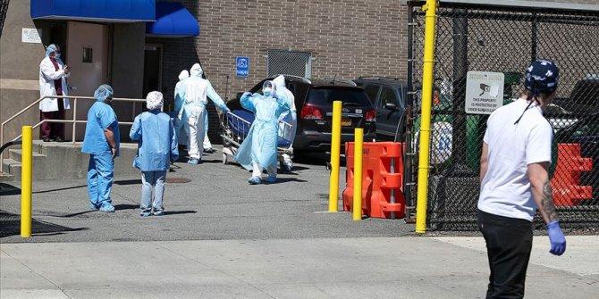 ABD'de Kovid-19 salgını nedeniyle son 24 saatte 449 ölüm