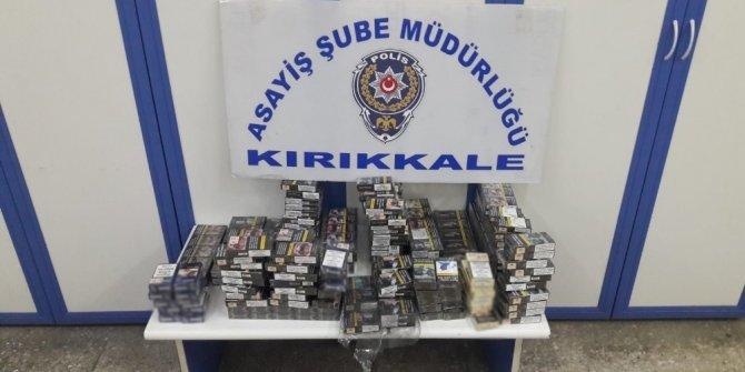 Kırıkkale'de 4 ayrı iş yerini soyan kişi tutuklandı