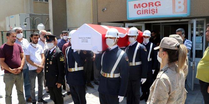 Elazığ'da otomobille çarpışan motosikletin sürücüsü uzman çavuş öldü