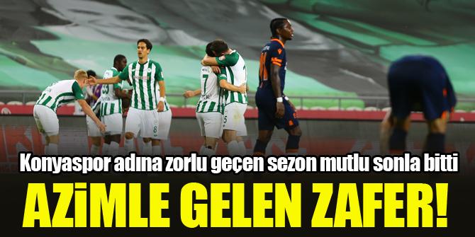 Konyaspor'da azimle gelen zafer! İşte sezonun özeti