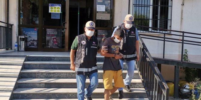 'Hırsızlık' suçundan çok saydı kaydı bulunan kişi yakalanarak tutuklandı