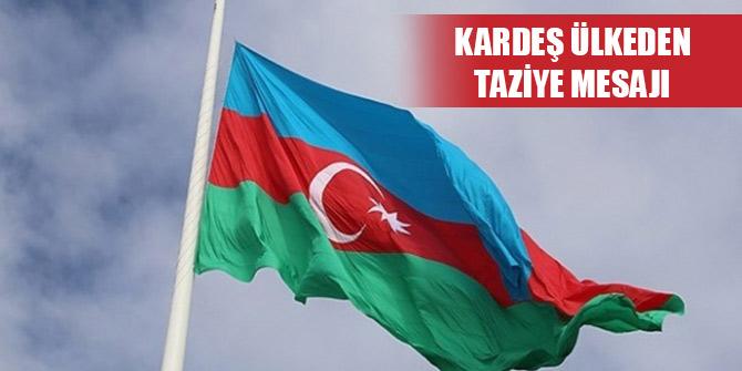 Azerbaycan'dan Mersin'de şehit olan askerler için taziye mesajı