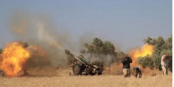 Esed rejimi İdlib'de 7 köye saldırdı