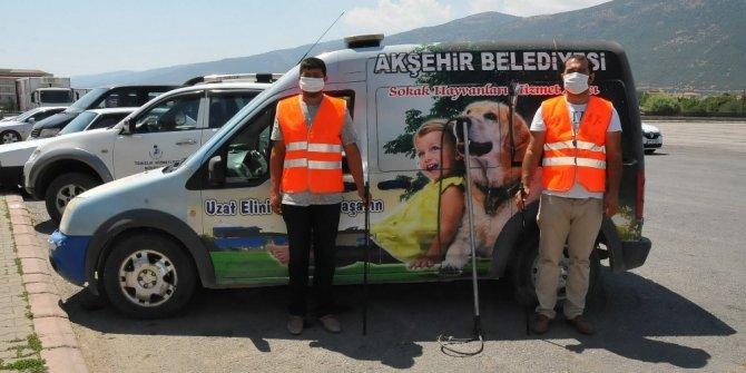 Akşehir'de kurban yakalama timi göreve hazır