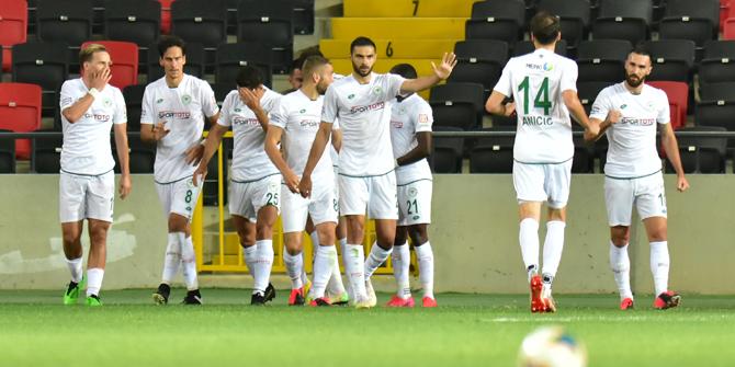 En az faul Konyaspor'dan