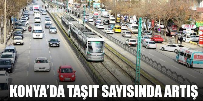 Konya'da motorlu kara taşıt sayısında artış