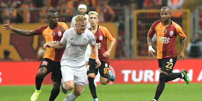 Konyaspor'da Jonsson formayı çıkarmadı