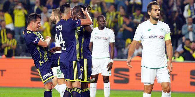 Konyaspor'dan son 5 sezonun en kötü averajı