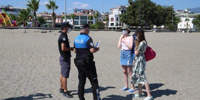 Samsun polisinden boğulma vakalarına karşı vatandaşa bilgilendirme