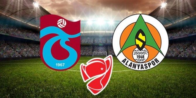 Trabzonspor - Alanyaspor | İlk 11'ler belli oldu