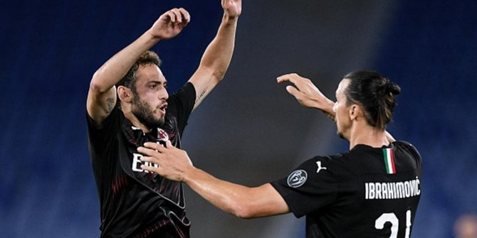 İtalya Seri A'da Hakan show! Milan - Samdoria maçında attı, attırdı!