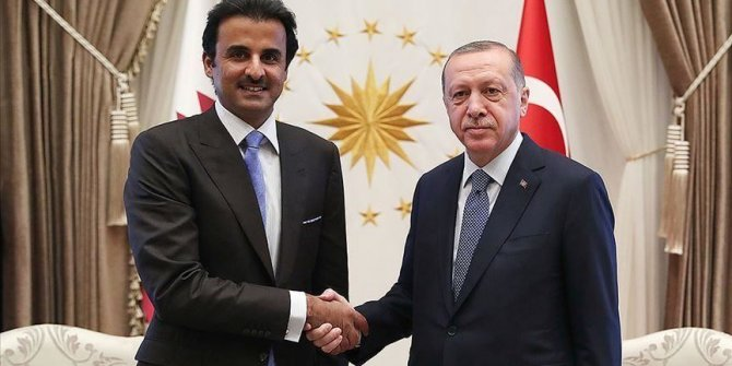 Turkish leader, Qatari emir exchange Eid al-Adha greetings
