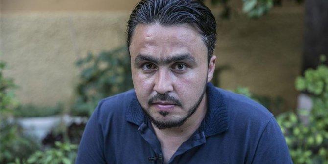 Savaşta yakınlarını kaybeden Suriyeli gazeteci acı dolu günleri unutmak istiyor