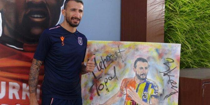 Mehmet Topal'a anlamlı hediye