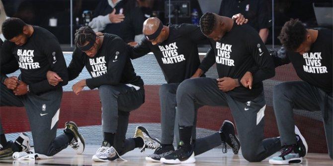 NBA'de ırkçılığa karşı protesto