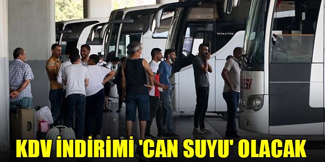KDV indirimi otobüs firmalarına 'can suyu' olacak