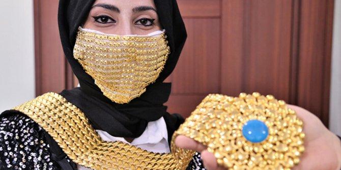 Altın maskenin de fiyatı arttı