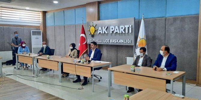 Bakan Kurum, AK Parti Konya İl Teşkilatıyla bayramlaştı