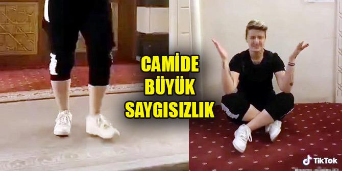 Türkiye'yi ayağa kaldıran görüntü! Camide büyük saygısızlık