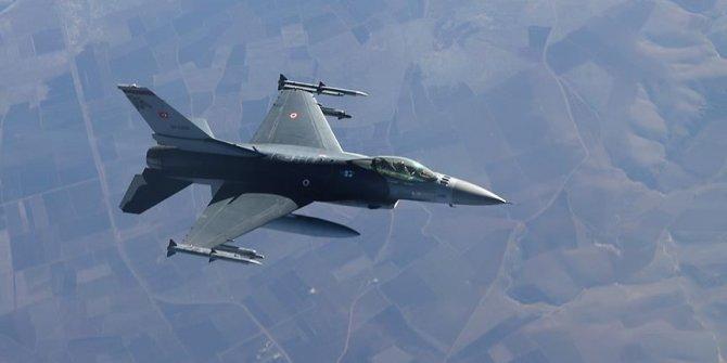 Irak'ın kuzeyine hava harekatı; 2 terörist etkisiz getirildi