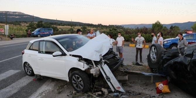 İstanbul'a tayini çıkan polis memuru kazada yaralandı